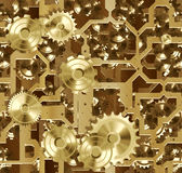 Cogs and clockwork machinery Stock Image