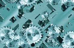 Cogs and clockwork machinery Stock Photography