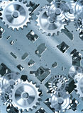 Cogs and clockwork machinery Stock Photos