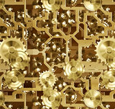 Cogs and clockwork machinery Royalty Free Stock Photos