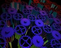 Cogs_gears_02 stock de ilustración