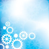 Cogs and gears. An abstract background with cogs and gears Vector Illustration