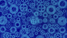 Cogs and gears background Stock Photography