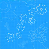 Cogs And Gears Icon Vector Illustration Stock Image