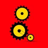 Cogs - Gears Illustration Stock Photo