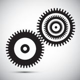 Cogs - Gears. Vector Design Isolated Royalty Free Illustration