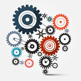 Cogs - Gears Vector Royalty Free Stock Photo