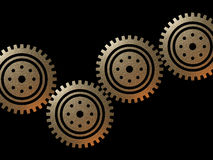 Cogs illustration Stock Image