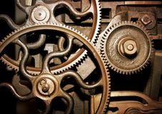 Cogs In A Machine Stock Photography