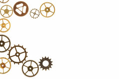 Watch Cogs Royalty Free Stock Images