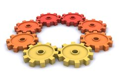 Cogs (Success) Royalty Free Stock Photos