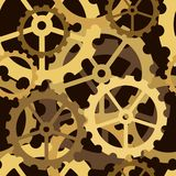 Cogs tile Royalty Free Stock Photography