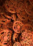 Cogs and wheels. Conceptual image of old cogs and wheels in a steampunk style Royalty Free Stock Image