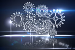 Cogs and wheels graphic Stock Photography