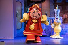 Free Cogsworth Character From The Beauty And The Beast Stock Photography - 163230272