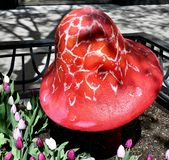 Cogumelo #2 da avenida de Michigan imagens de stock royalty free