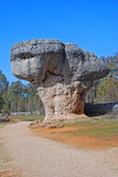Cogumelo de pedra na cidade Enchanted foto de stock