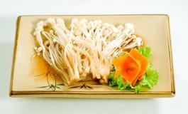 Cogumelo fritado da agulha Foto de Stock
