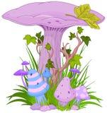 Cogumelo mágico Fotos de Stock