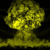 Cogumelo nuclear Imagem de Stock Royalty Free