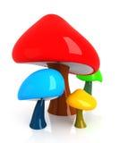 Cogumelos ilustração do vetor