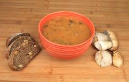 Cogumelos da goulash Fotografia de Stock