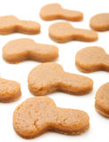 Cogumelos da massa de pão Fotografia de Stock