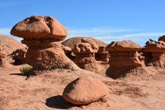 Cogumelos da rocha Fotografia de Stock