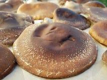 Cogumelos de Shiitake para a venda fotos de stock