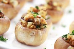 Cogumelos enchidos Fotografia de Stock Royalty Free