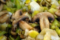 Cogumelos grelhados Imagem de Stock Royalty Free