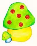 Cogumelos mágicos Imagem de Stock