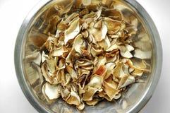 Cogumelos secados Fotos de Stock