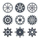 Cogwheel εικονιδίων Στοκ Εικόνες