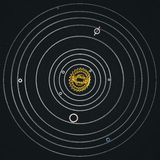Cogwheel ηλιακό σύστημα Στοκ Φωτογραφία