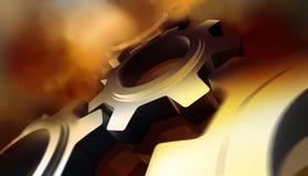 Cogwheel μηχανισμός Στοκ φωτογραφία με δικαίωμα ελεύθερης χρήσης