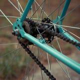 Cogwheel на велосипеде Стоковые Фотографии RF