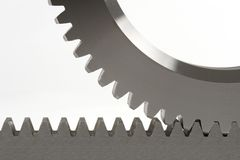 Free Cogwheel And Cograil Royalty Free Stock Photo - 947455