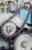 Cogwheel av gammal bransch Royaltyfri Bild