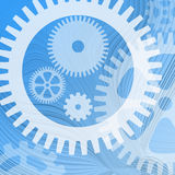 Cogwheel background Royalty Free Stock Photography