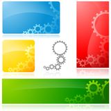 Cogwheel Banner Royalty Free Stock Images