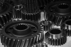 Cogwheel. For a big machine, engineering and technology Royalty Free Stock Image