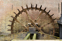 Cogwheel drive the watermill. Stock Image