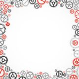 Cogwheel frame. Stock Photography