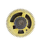 Cogwheel - gear - on white background Stock Photography