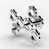 Cogwheel gears Stock Image