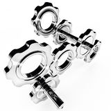 Cogwheel gears Royalty Free Stock Photos
