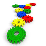 Cogwheel gears Stock Photography