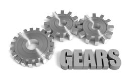 Cogwheel gears Royalty Free Stock Photo