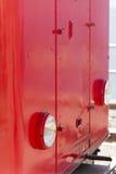 Cogwheel locomotive head lamp Stock Photos